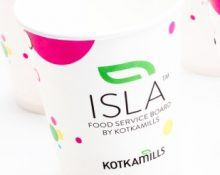 ISLA for disposable cups and plates